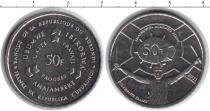 Каталог монет - монета  Бурунди 50 франков