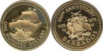 Каталог - подарочный набор  Барбадос Первый выпуск монет в Барбадосе