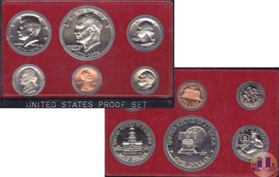 Каталог - подарочный набор  США Выпуск 1975 года
