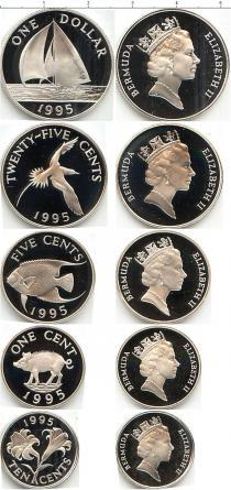 Каталог - подарочный набор  Бермудские острова 25-летие выпуска Бермудских монет