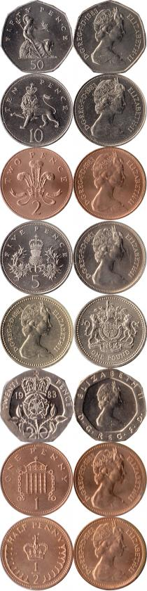 Каталог - подарочный набор  Великобритания Выпуск 1983 года