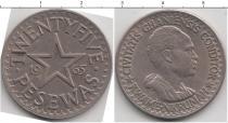 Каталог монет - монета  Гана 25 песев