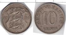 Каталог монет - монета  Эстония 10 центов