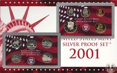 Каталог - подарочный набор  США Пруф-сет 2001 года