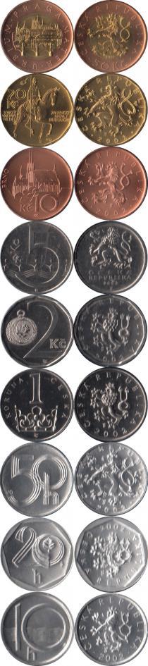 Каталог - подарочный набор  Чехия Выпуск 2002