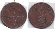 Каталог монет - монета  Гессен-Дармштадт 1/4 крейцера