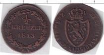 Каталог монет - монета  Нассау 1/2 крейцера