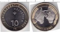 Каталог монет - монета  Швейцария 10 франков