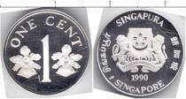 Каталог монет - монета  Сингапур 1 цент