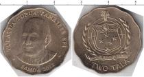 Каталог монет - монета  Самоа 2 тала
