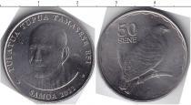 Каталог монет - монета  Самоа 50 сен