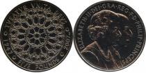 Продать Подарочные монеты Великобритания Бриллиантовая свадьба королевы Елизаветы и Филиппа 2007 Медно-никель