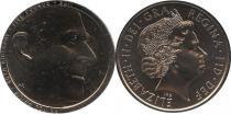 Продать Подарочные монеты Великобритания 90-ый юбилей принца Филиппа 2011 Медно-никель