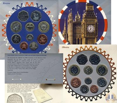 Каталог - подарочный набор  Великобритания Годовой набор 2005