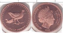 Каталог монет - монета  Остров Гоф 1/2 пенни