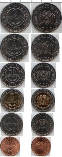 Каталог - подарочный набор  Боливия Боливия 2008-2010