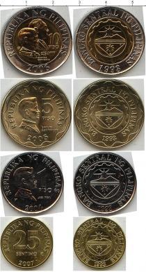 Каталог - подарочный набор  Филиппины Филиппины 1993-2007