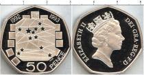 Каталог - подарочный набор  Великобритания Серебряные 50 пенсов Питфорт