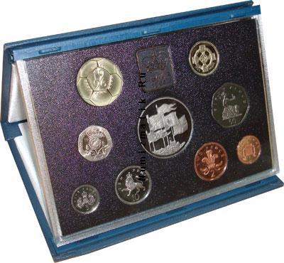 Каталог - подарочный набор  Великобритания Набор 1996 года
