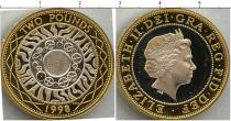 Каталог - подарочный набор  Великобритания Серебряные 2 фунта Питфорт