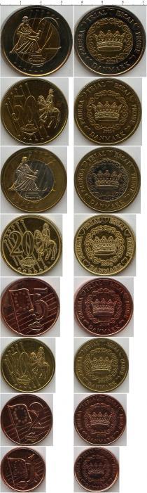 Каталог - подарочный набор  Дания Пробный евро-набор 2003