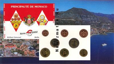 Каталог - подарочный набор  Монако Евронабор 2002 года