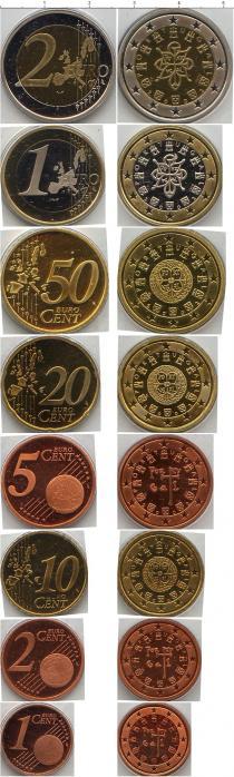 Каталог - подарочный набор  Португалия Евронабор 2002 года