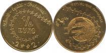 Каталог - подарочный набор  Франция Первая евро-монета для детей