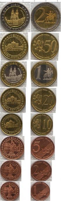Каталог - подарочный набор  Чехия Пробный евро-набор 2004