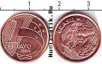 Каталог монет - монета  Бразилия 1 сентаво