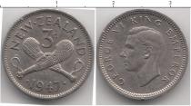 Каталог монет - монета  Новая Зеландия 3 пенса