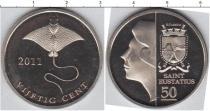 Каталог монет - монета  Остров Святого Евстафия 50 центов