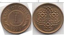 Каталог монет - монета  Гайана 1 цент