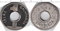 Каталог монет - монета  Галапагосские острова 1  пиза