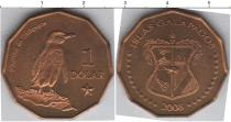 Каталог монет - монета  Галапагосские острова 1 доллар