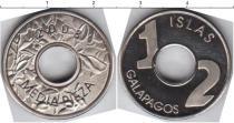 Каталог монет - монета  Галапагосские острова 1/2 пиза