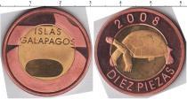Каталог монет - монета  Галапагосские острова 10 пиза