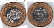 Каталог монет - монета  Галапагосские острова 5 долларов