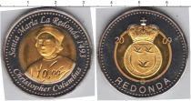 Каталог монет - монета  Редонда 10 долларов