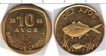 Каталог монет - монета  Кабинда 10 авос