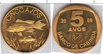 Каталог монет - монета  Кабинда 5 авос