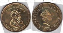 Каталог монет - монета  Острова Питкэрн 2 доллара
