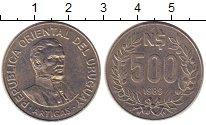 Каталог монет - монета  Уругвай 500 песо