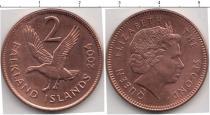 Каталог монет - монета  Фолклендские острова 2 цента