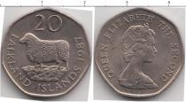 Каталог монет - монета  Фолклендские острова 20 центов