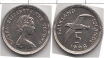 Каталог монет - монета  Фолклендские острова 5 центов
