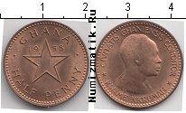 Каталог монет - монета  Гана 1/2 пенни