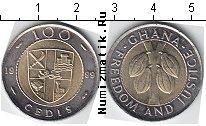 Каталог монет - монета  Гана 100 седи