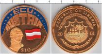 Каталог монет - монета  Либерия 10 долларов