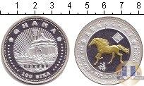 Каталог монет - монета  Гана 100 сика